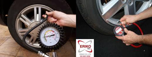 Ứng dụng đồng hồ đo áp suất lốp ô tô