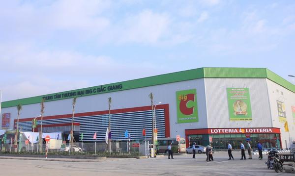 Nhà thầu Cơ điện lạnh Eriko cung ứng vật tư, máy móc thiết bị cho dự án BigC ở Bắc Giang