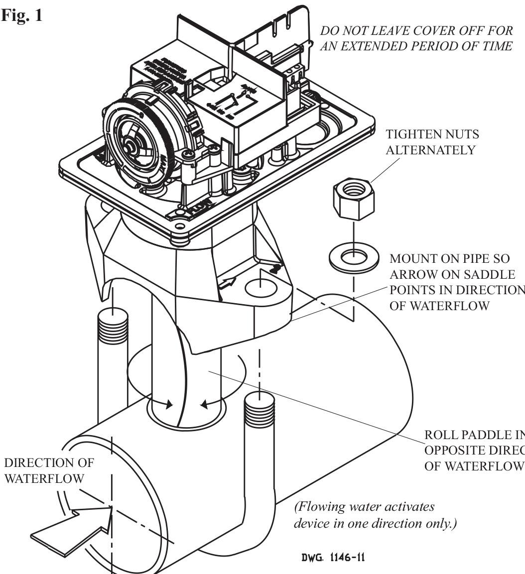 Cấu tạo công tắc dòng chảy VRS potter