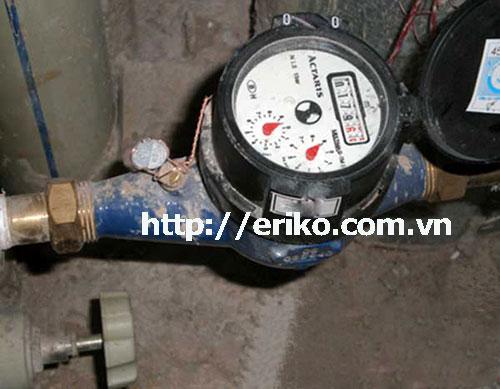 Ứng dụng của đồng hồ nước trong việc đo nước sạch sinh hoạt
