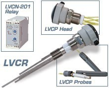 CONDUCTIVITY LEVEL SWITCHES - LVCN-200 SERIES