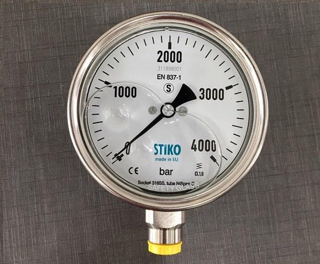 Đồng hồ đo áp suất, áp lực Stiko