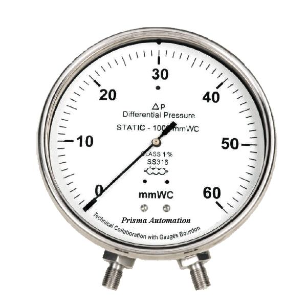 Đồng hồ đo chênh áp kiểu Capsule (hộp xếp)
