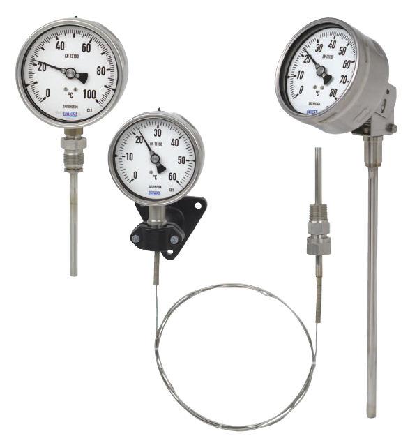 Đồng hồ đo nhiệt độ có dây