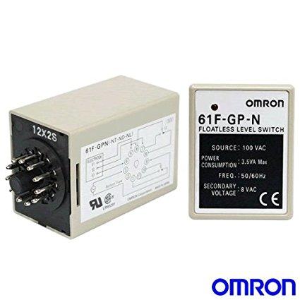 Floatless level switch omron