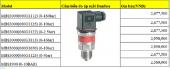 Bảng giá cảm biến đo áp suất