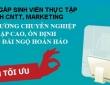 Cơ hội làm nhân viên thực tập SEO - Marketing tại Hà Nội