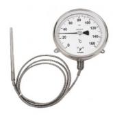 Đồng hồ đo nhiệt độ có dây loại khí
