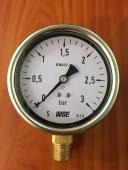 Đồng hồ đo áp suất nước Wise P254