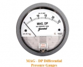 Đồng hồ đo chênh áp dạng từ (áp suất tĩnh thấp)