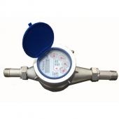 Đồng hồ nước Komax DN32 inox, nối ren