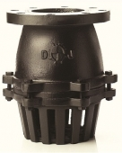 Rọ Bơm, Van rọ hút, Foot valve