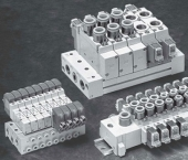 VAN ĐIỆN TỪ SMC 5 CỔNG DÒNG SY MODEL SY3000 / SY5000 / SY7000 / SY9000